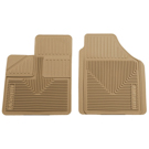 2 - Front Floor Mats - Heavy Duty Floor Mats - Tan