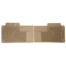 2nd or 3rd Seat Floor Mats - Heavy Duty Floor Mats - Tan