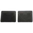 2nd or 3rd Seat Floor Mats - Heavy Duty Floor Mats - Black
