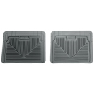 2nd or 3rd Seat Floor Mats - Heavy Duty Floor Mats - Grey