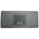 Center Hump Floor Mat - Heavy Duty Floor Mats - Grey