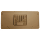 Center Hump Floor Mat - Heavy Duty Floor Mats - Tan