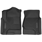 Suburban - Front Floor Liners - X-Act Contour Series - Black