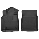 Crew Cab Pickup - Front Floor Liners - X-Act Contour Series - Black