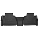 Crew Cab Pickup - 2nd Seat Floor Liner - X-Act Contour Series - Black