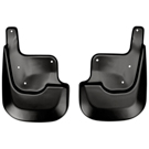 with Integrated Side Steps - Front Mud Guards - Custom Mud Guards - Black