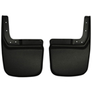 Standard Bumper - Rear Mud Guards - Custom Mud Guards - Black