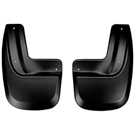 EL XLT - Rear Mud Guards - Custom Mud Guards - Black