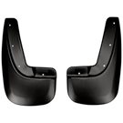 Rear Mud Guards - Custom Mud Guards - Black