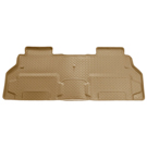 2nd Row Bucket Seats - 2nd Seat Floor Liner - Classic Style Series - Tan