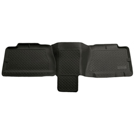 1500 - 2nd Seat Floor Liner - Classic Style Series - Black
