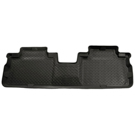 2nd Seat Floor Liner - Classic Style Series - Black