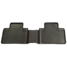 Crew Cab Pickup - 2nd Seat Floor Liner - Classic Style Series - Black