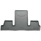 2nd Row Bucket Seats - 3rd Seat Floor Liner - Classic Style Series - Grey