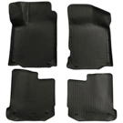 Front & 2nd Seat Floor Liners - Classic Style Series - Black