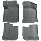 Front & 2nd Seat Floor Liners - Classic Style Series - Grey