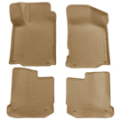 Front & 2nd Seat Floor Liners - Classic Style Series - Tan