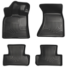 AWD - Front & 2nd Seat Floor Liners - Weatherbeater Series - Black