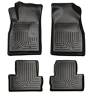 Front & 2nd Seat Floor Liners - Weatherbeater Series - Black