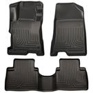 4 Door - Front & 2nd Seat Floor Liners - Weatherbeater Series - Black