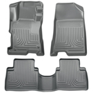 4 Door - Front & 2nd Seat Floor Liners - Weatherbeater Series - Grey