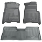 Standard Cargo Area (No 3rd seat or Sliding Cargo Deck) - Sliding Rear Cargo Deck - 3rd row of seats - Front & 2nd Seat Floor Liners - Weatherbeater Series - Grey