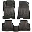GLS - Front & 2nd Seat Floor Liners - Weatherbeater Series - Black