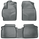 Front & 2nd Seat Floor Liners - Weatherbeater Series - Grey