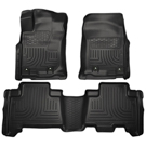Standard Cargo Area (No 3rd seat or Sliding Cargo Deck) - Sliding Rear Cargo Deck - 3rd row of seats - Front & 2nd Seat Floor Liners - Weatherbeater Series - Black