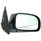 BuyAutoParts 14-12128MJ Side View Mirror 2