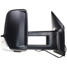 BuyAutoParts 13-70002NK Towing Mirror Set 2