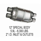 Eastern Catalytic 85334 Catalytic Converter EPA Approved 1