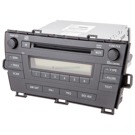 AM-FM-XM-MP3-AUX-Single CD Radio with Face Code 51883 [OEM 86120-47290]