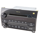 AM-FM-XM-AUX-6CD Radio with JBL Audio System and Face Code A51856 [OEM 86120-0C260]