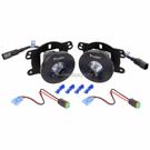 Vision X XIL-OE0711JKS1100 - Fog Light Upgrade Kit With LED Lights - 10 Watt Lights