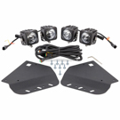 Vision X XIL-OE10FROP - F-150 Raptor Fog Light Kit With Optimus Lights - 10 Degree Beam