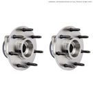 Acura CL 2 Wheel Hubs