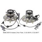GMC Canyon Wheel Hub Assembly Kit