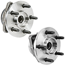 Pair of Front Hubs - Models with ABS