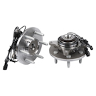 Pair of Front Hubs - 4WD Models with 4 wheel ABS