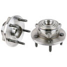 Pair of Front Hubs - All Models with 2 Wheel ABS
