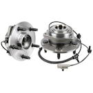 Pair of Front Hubs - All Models