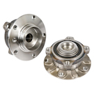 Pair of Front Hubs