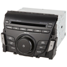 AM-FM-XM-Single CD Dimension Radio with Bluetooth for Models with Navigation [OEM 96560-3V451-4X]
