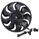Porsche Cooling Fan Assembly