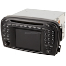 In-Dash Navigation Unit With Radio and Keypad [OEM A2308202889 or 2308202889]