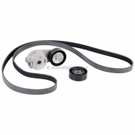 Volkswagen Routan Serpentine Belt and Tensioner Kit