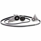 Audi A4 Serpentine Belt and Tensioner Kit