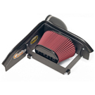Base - SynthaFlow Oiled Filter - w/o Intake Tube - Installs In 30 Minutes - Red - AirAid Intake System