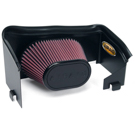 4.7L Engine - SynthaMax Dry Filter - w/o Intake Tube - Installs In 30 Minutes - Red - AirAid Intake System